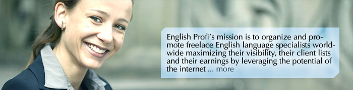Welcome to English Profi the directory and job board of language professionals